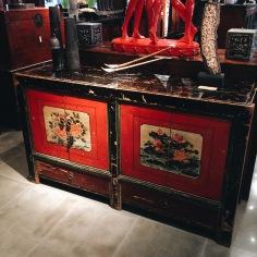 Antique Mongolian Cabinet