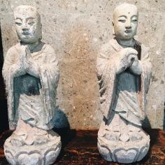 Wood standing Monk -Origin - China